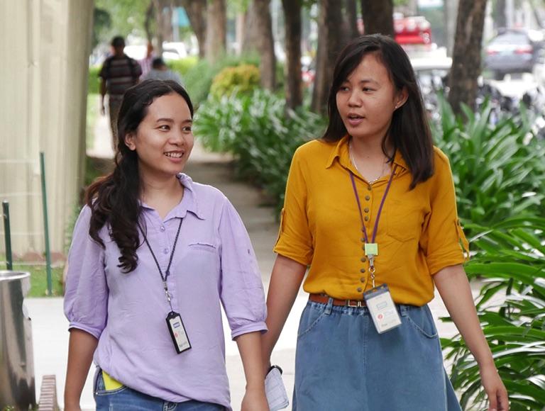 フィリピンの女性