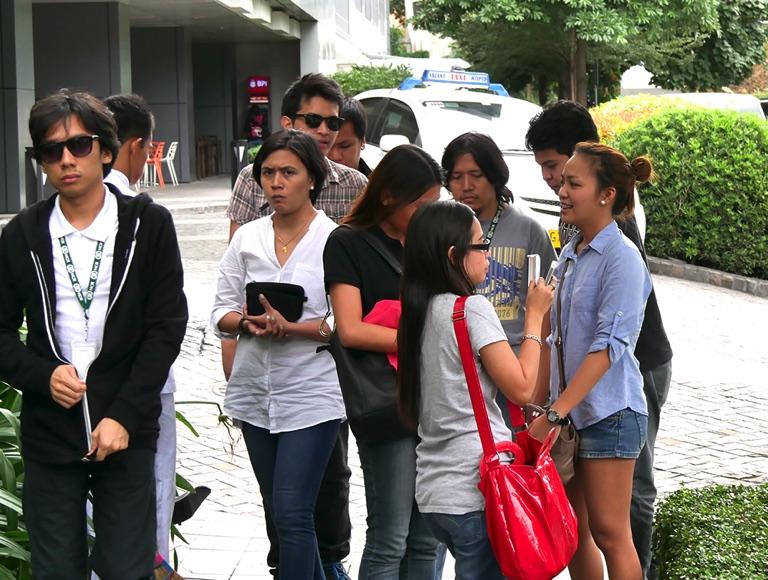 フィリピンの人たち
