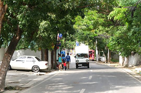 セブ島の街並み