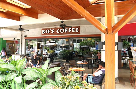 セブ島のBTCのBo's coffee